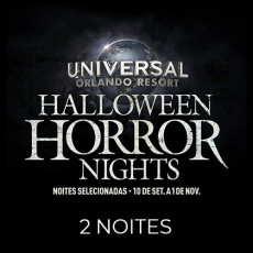 Universal Orlando Halloween Horror Nights – Flex Ticket – Para Duas Noites de Domingo à Sexta
